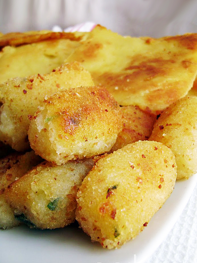 panino con panelle e crocchè