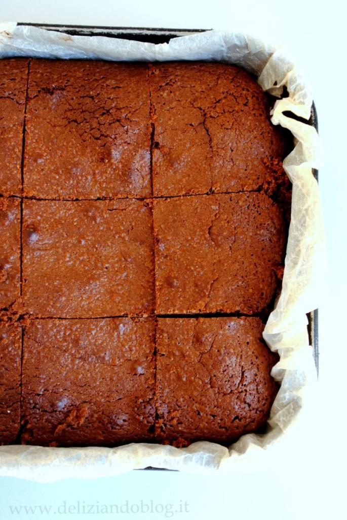 Brownies cioccolato fondente