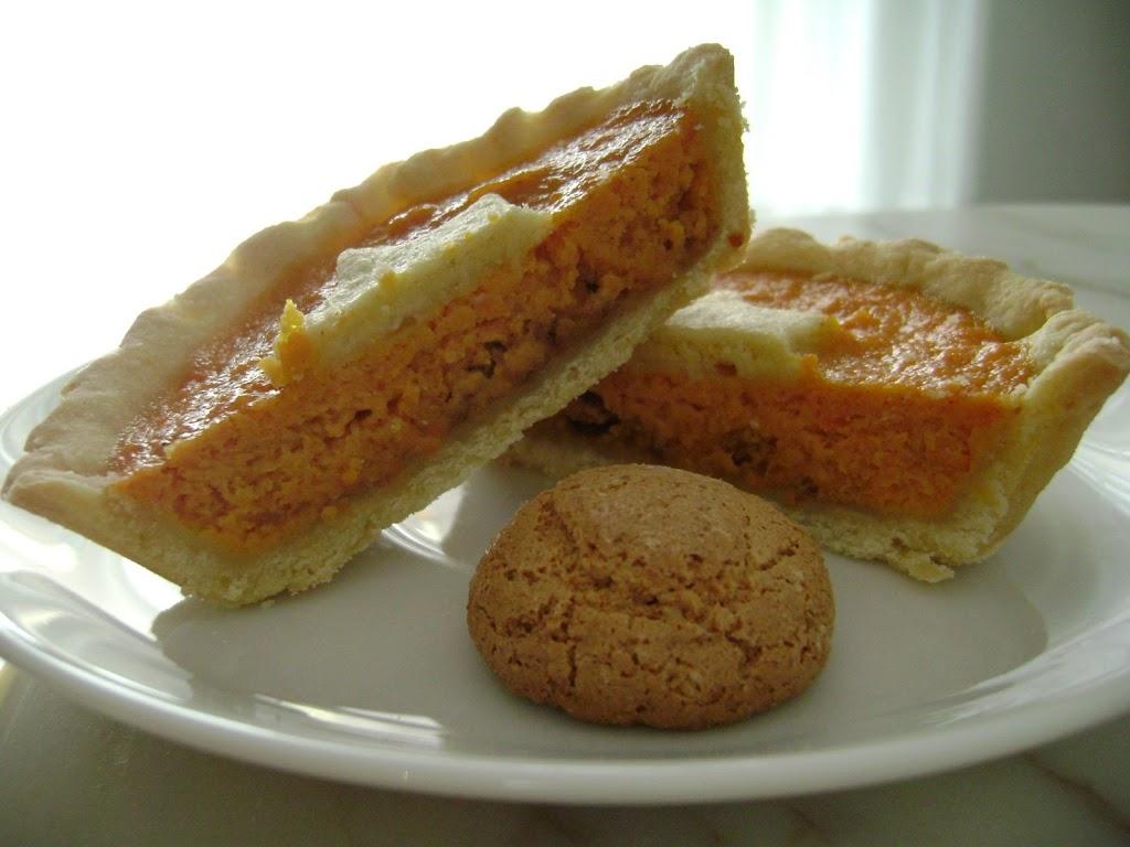 Crostatine alle carote e philadelphia