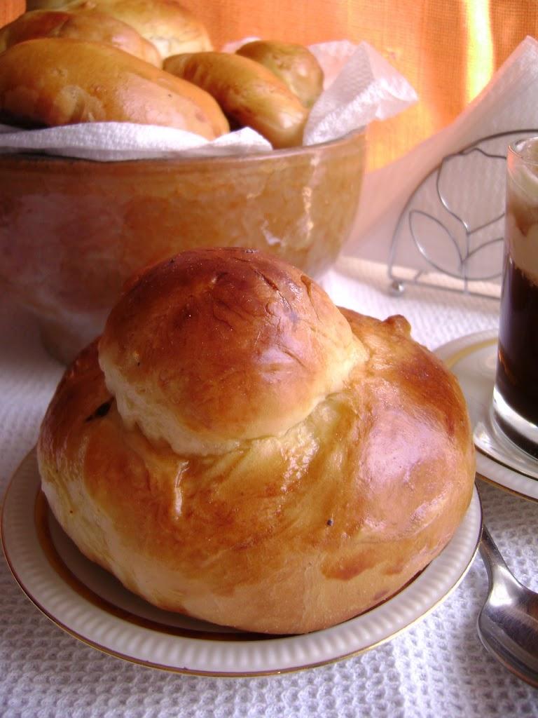 Brioches siciliane e granita caffè e panna
