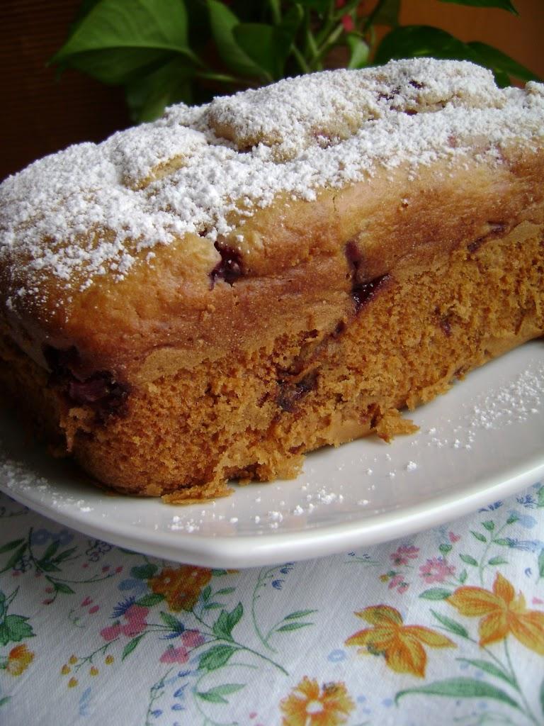 Plumcake alle fragole e anch'io sul bloggatore