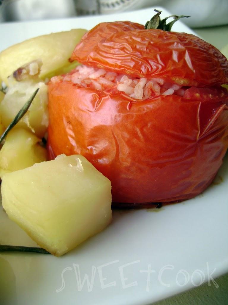 Pomodori col riso per salutare l'estate