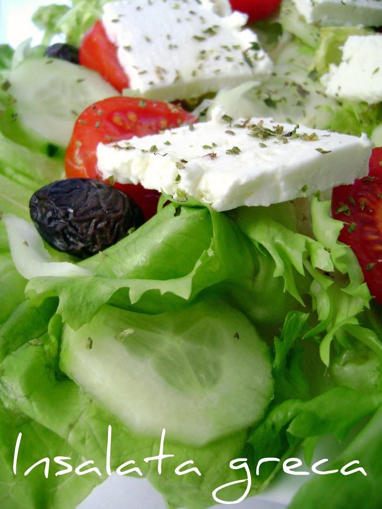 Insalata greca, la ricetta facile