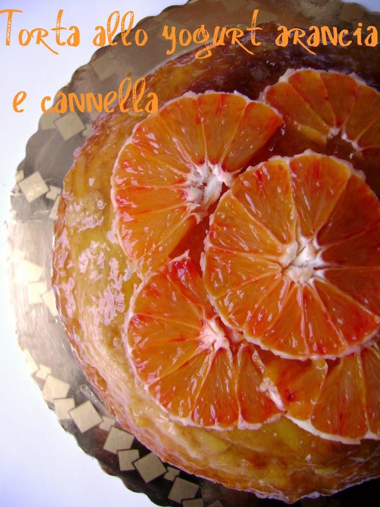 Torta allo yogurt arancia e cannella