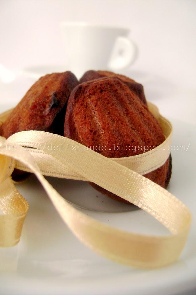 Le madeleines al cioccolato di Christophe Felder