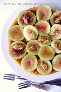 cheesecake uva fichi e noci