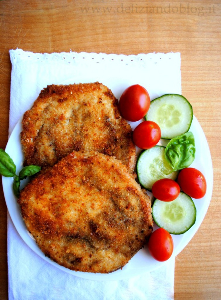 Cotolette di melanzane fritte (o al forno)