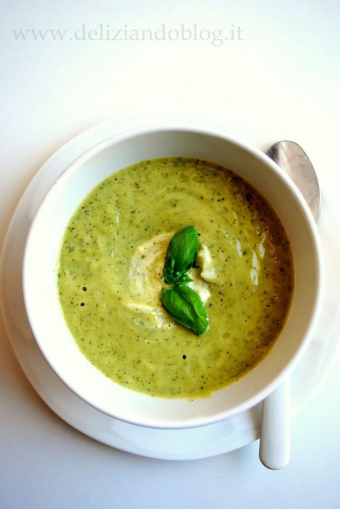 Crema di zucchine e yogurt greco
