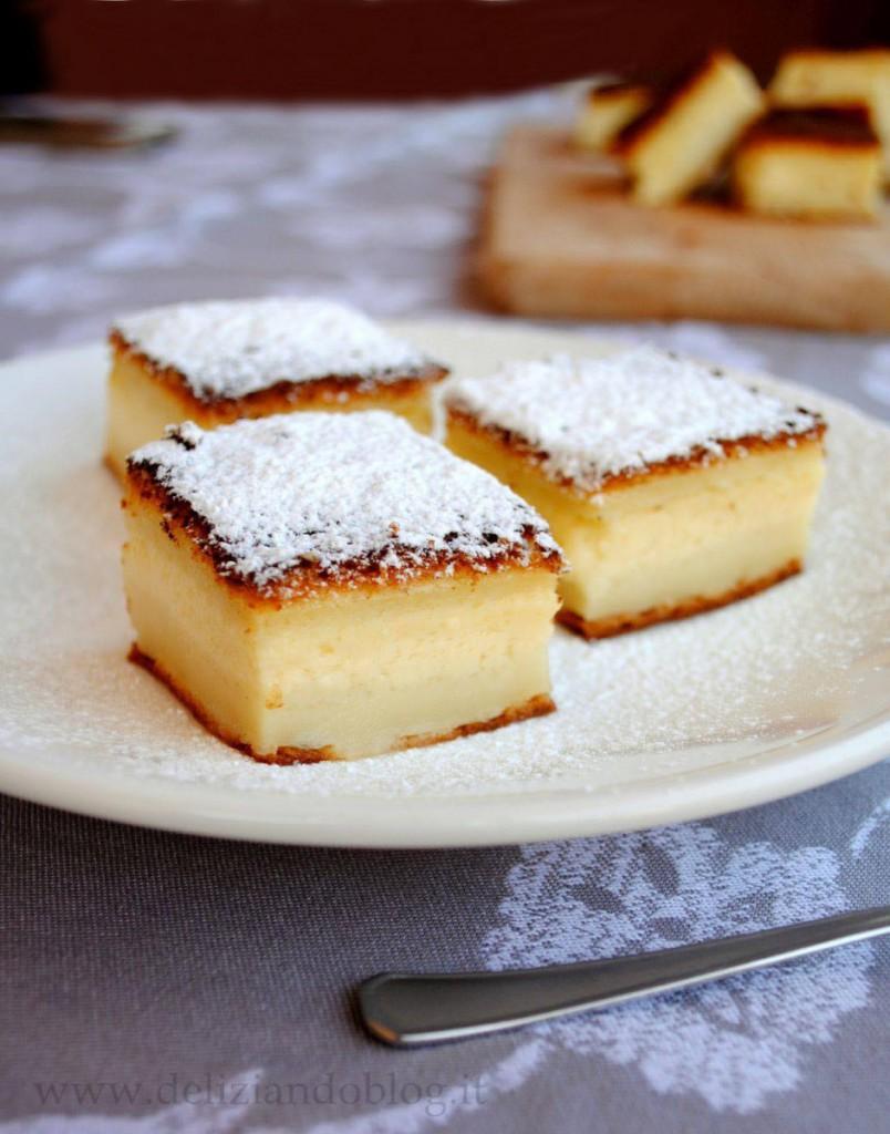 Torta magica: tre strati, un solo dolce