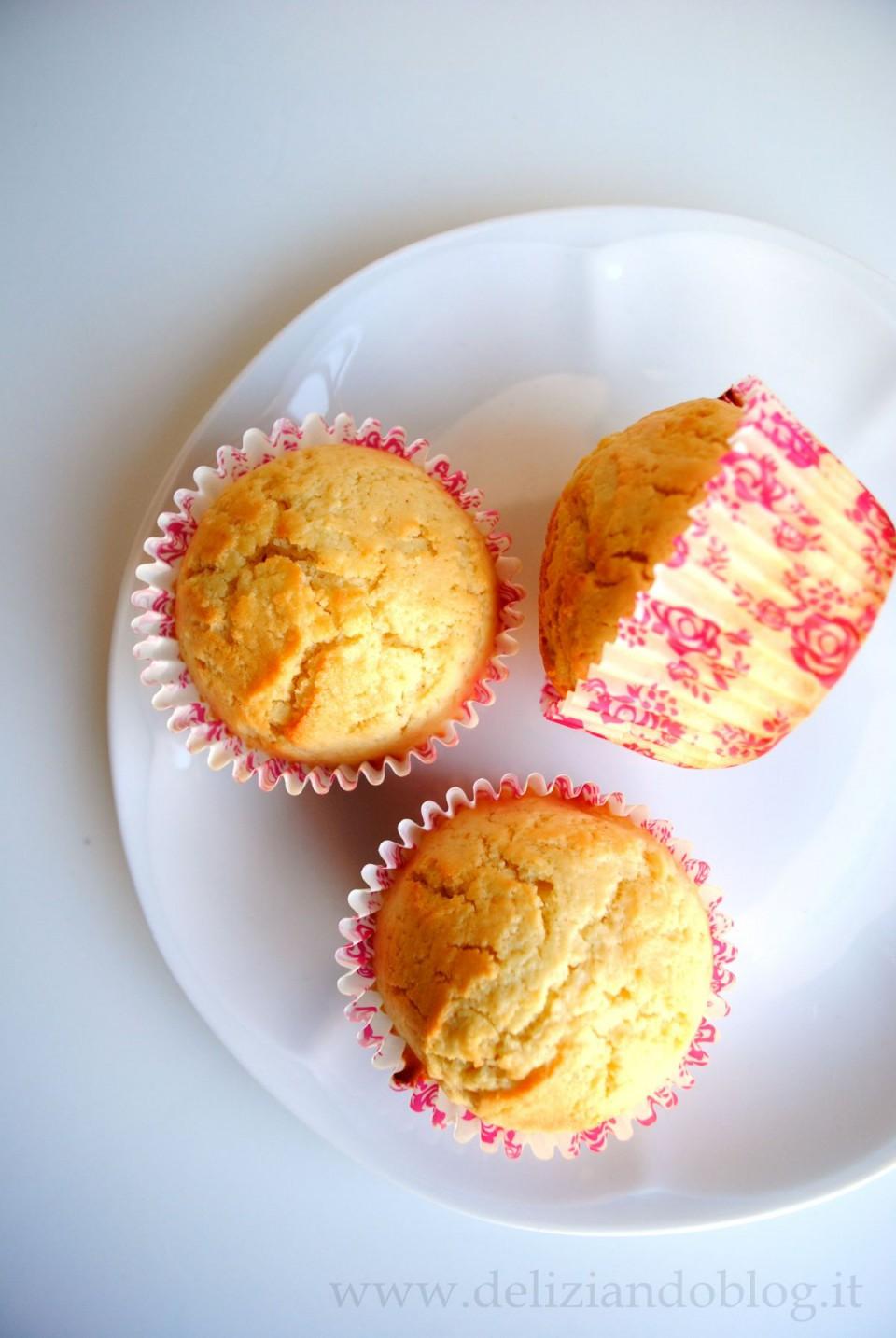 Muffin ricotta limone