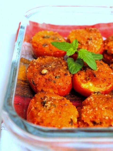 pomodori ripieni gratinati forno