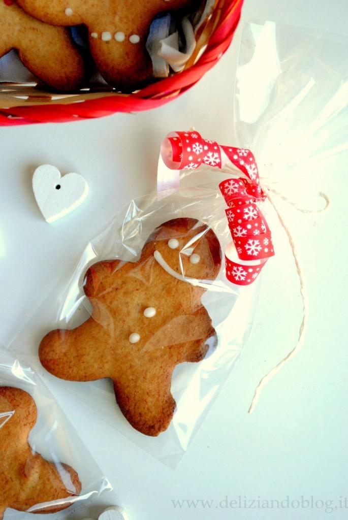 Idee Per Confezionare Biscotti Di Natale.Omini Di Pan Di Zenzero Gingerbread I Biscotti Di Natale Da