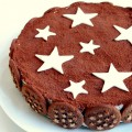 Torta pan di stelle nutella