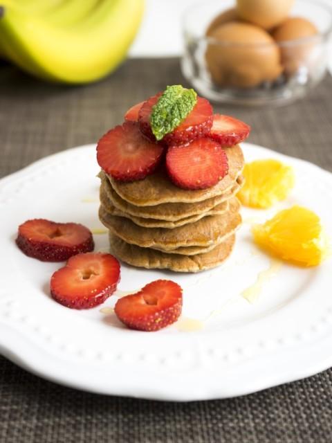 Pancake light alla banana