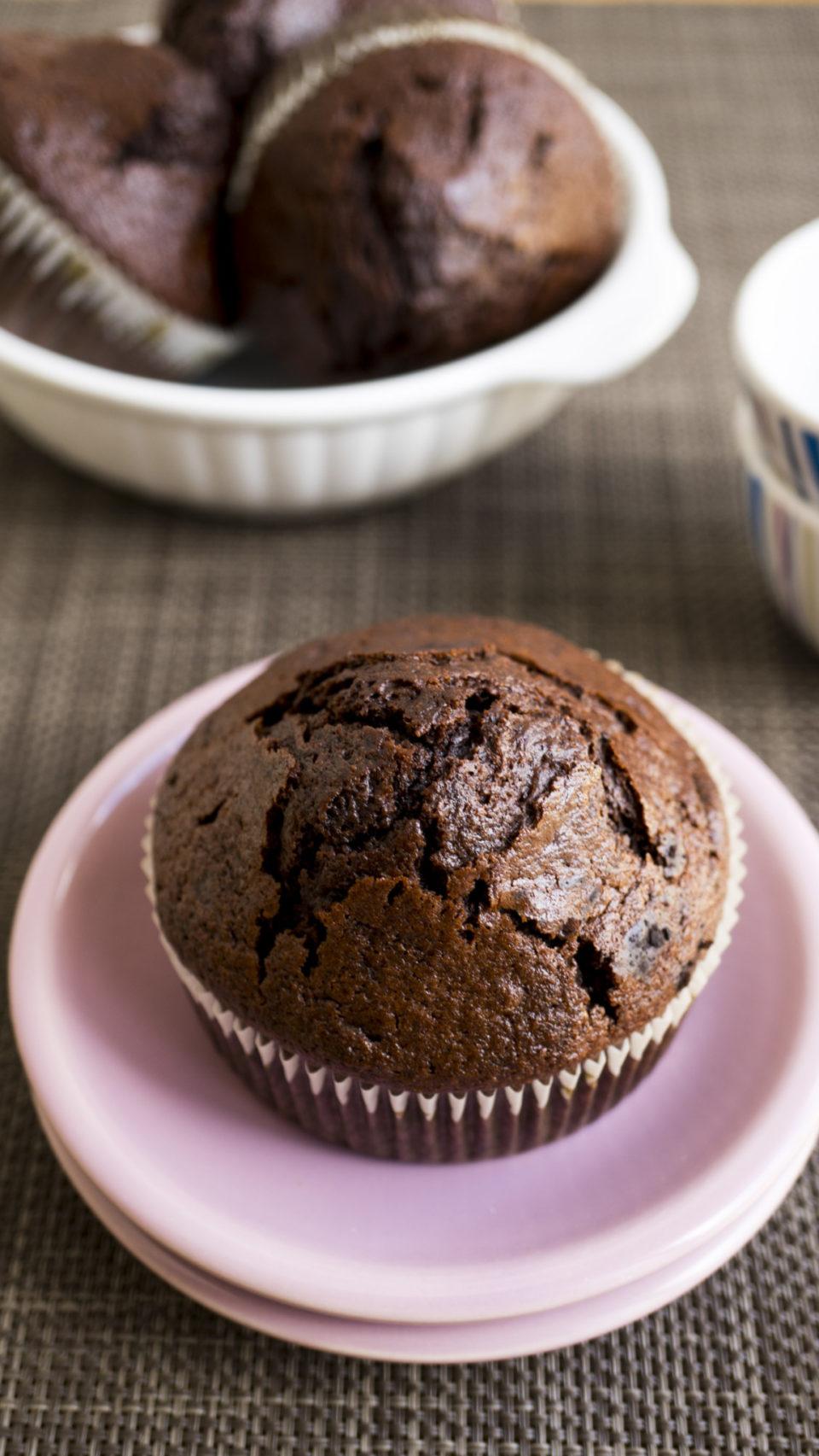 Muffin al cioccolato: inauguriamo l'autunno!