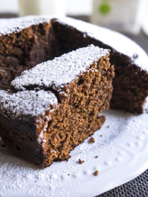 Torta cioccolato fondente senza uova