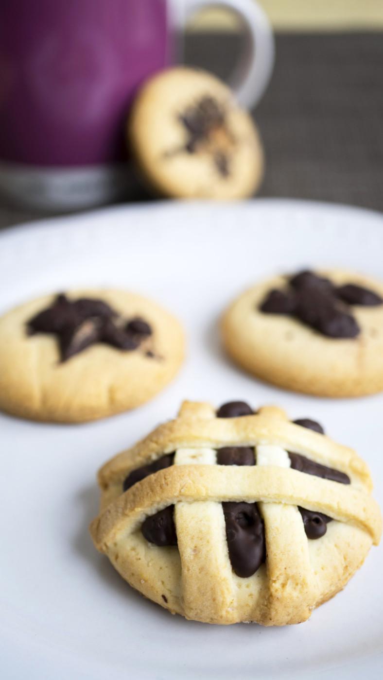 Biscotti di pasta frolla con panna