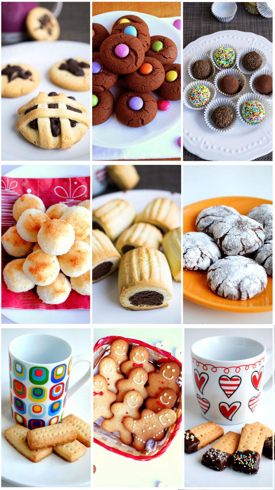 Dolci Di Natale Fatti In Casa Da Regalare.Biscotti Di Natale Da Regalare Ricette Facili Deliziando