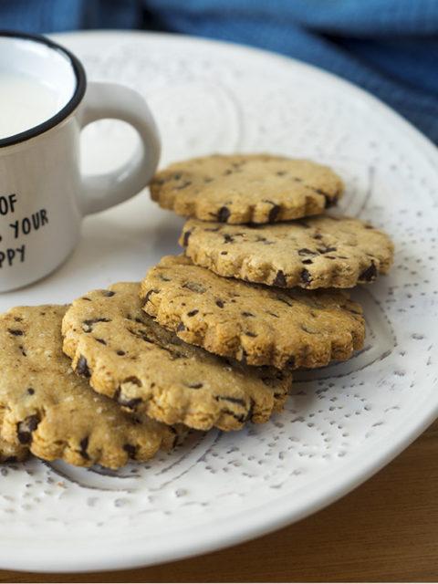 biscotti avena cioccolato