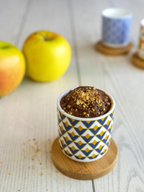 crema mele e cannella light e vegan