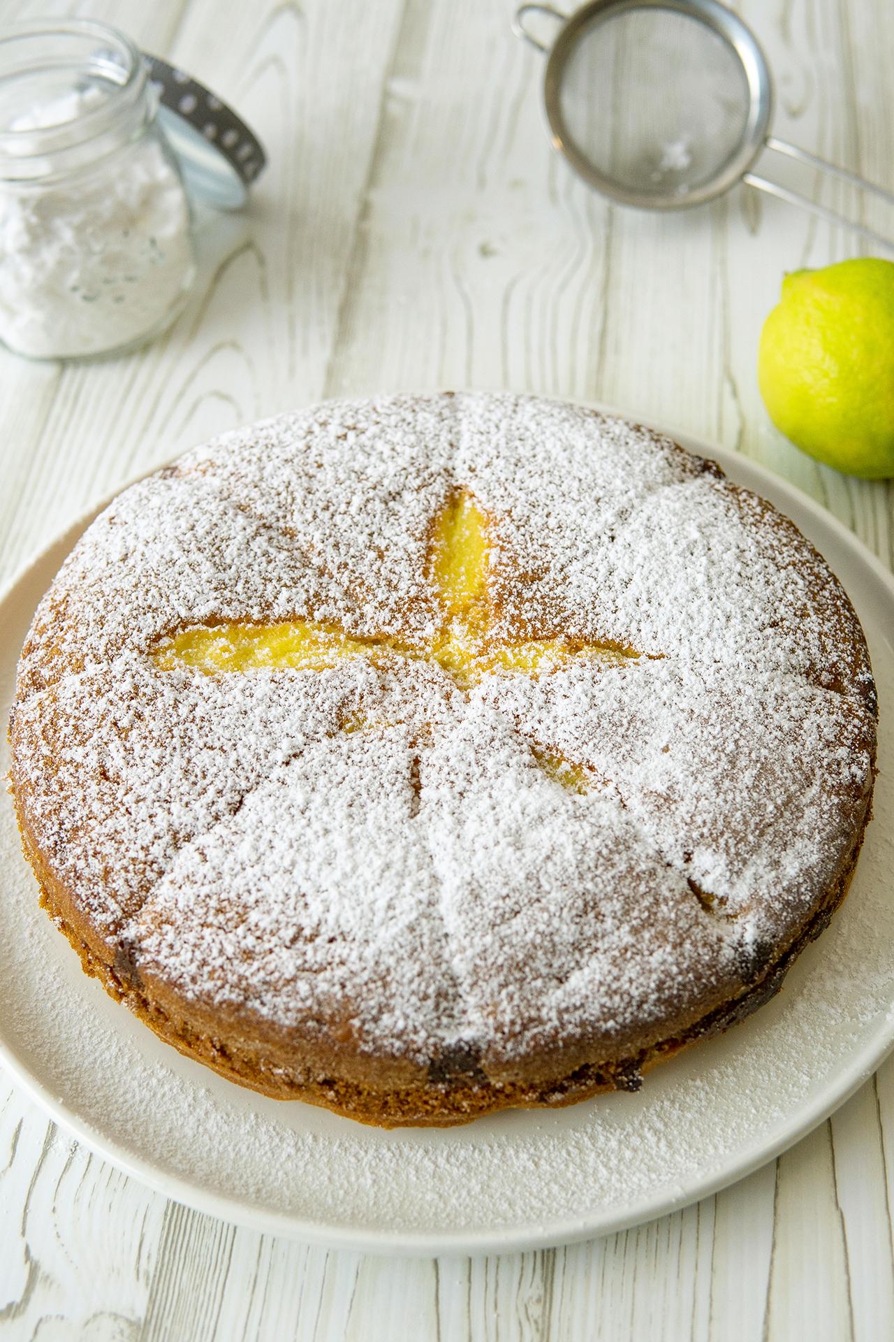 Torta al limone Mulino bianco