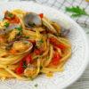 Pasta con vongole e pomodorini, la ricetta facile