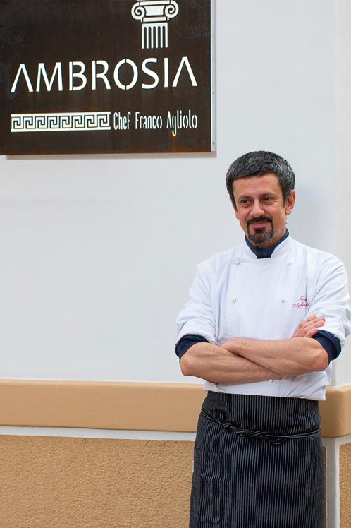 Ambrosia dello chef Franco Agliolo nella Guida 50 Top Italy