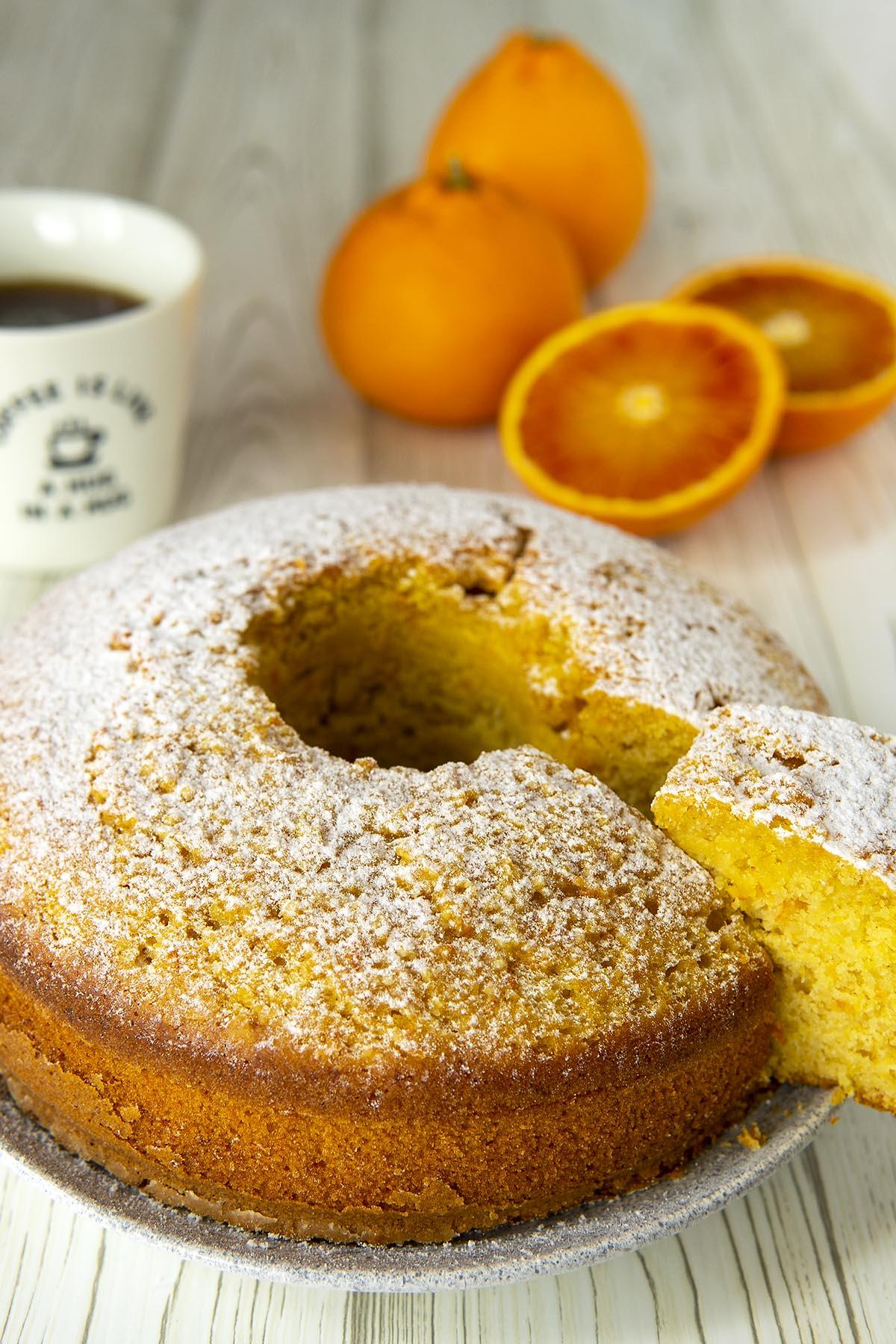 Pan d'arancio siciliano, la ricetta originale per farlo in casa