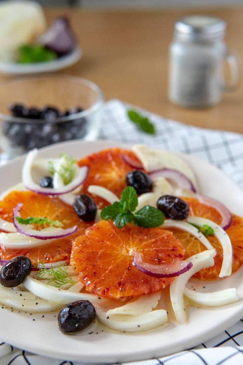 Insalata di arance alla siciliana, la ricetta facile
